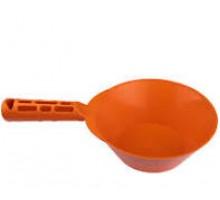 Ковш штукатурний пластиковий посилений  (помаранчевий) Польща