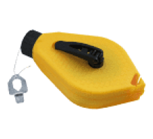 Шнур відбивочний  профі (жовтий корпус) (1 шт)