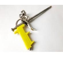 Пістолет для монтажноі піни  Профі жовтий