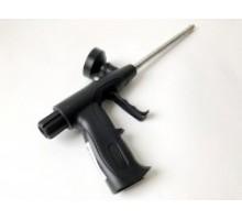 Пістолет для піни Проф (чорна пластикова ручка)