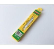 Леза до ножів 18 мм (10 шт) профі
