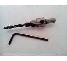 Свердло для конфірмата з ключом  4 мм (1 шт) WIRLPOWER