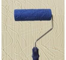 Валик структурний гумовий 60 х 180 мм 2007L (синій)