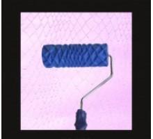 """Валик структурний гумовий 60 х 180 мм 2013L (синій) """"шкіра зміі"""""""
