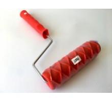 """Валик структурний  гумовий 60 х 180 мм 198 Т (червоний)""""Ромб"""""""