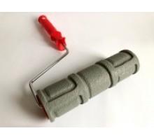 Валик структурний гумовий  60 х 250 мм  724-2523 Цегла (розмір цегли 210х 70  мм)