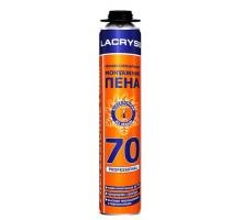 Піна монтажна Lacrysil 850 мл / 70 л професійна (пістолетна)