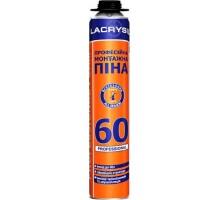 Піна монтажна професійна Lacrysil 750/ 60 л (пістолетна)