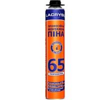Піна монтажна Lacrysil 800 мл / 65 л професійна (пістолетна)
