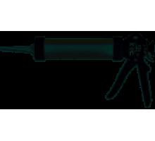 Пістолет для витискання маси закритий (тубос) alum (400)