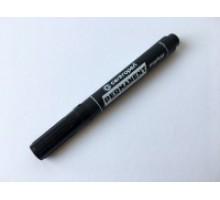 Маркер перманентний чорний грубий  4,6 мм (10 шт/уп)