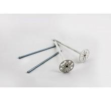 Дюбель для пінопласту з металевим цвяхом 10 х 180