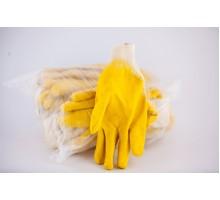Рукавиці Гріп (дешева) Яскраво-жовта  (12 уп)