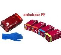 Рукавиця амбуланс латексна оглядова стерильна неприпудрена-XL .L.M.S  (50шт)