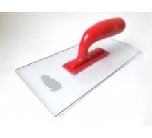 Терка для декора  ABS PREMIUM прозора 130 х 280 мм ((4 мм)