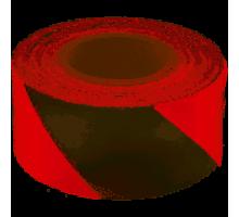 Стрічка сигнальна червона 50 мм х 200 м