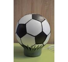 Лампа нічник .Футбольний мяч чорно-білий