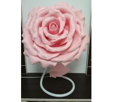 Лампа нічник .Рожева троянда