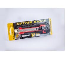 Ніж  CUTTER  KNIFE 286 з закруткою (прорезинений) 1 шт