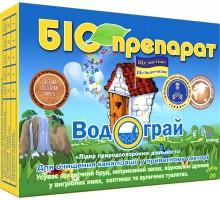 """Био препарат Водограй """"Для очистки канализации в частном секторе .и уличных туалетах"""" 200г"""